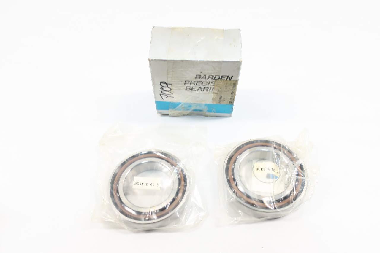 Set of 2 BARDEN 109HDL Angular Contact Ball Bearing 45MM 75MM 16MM