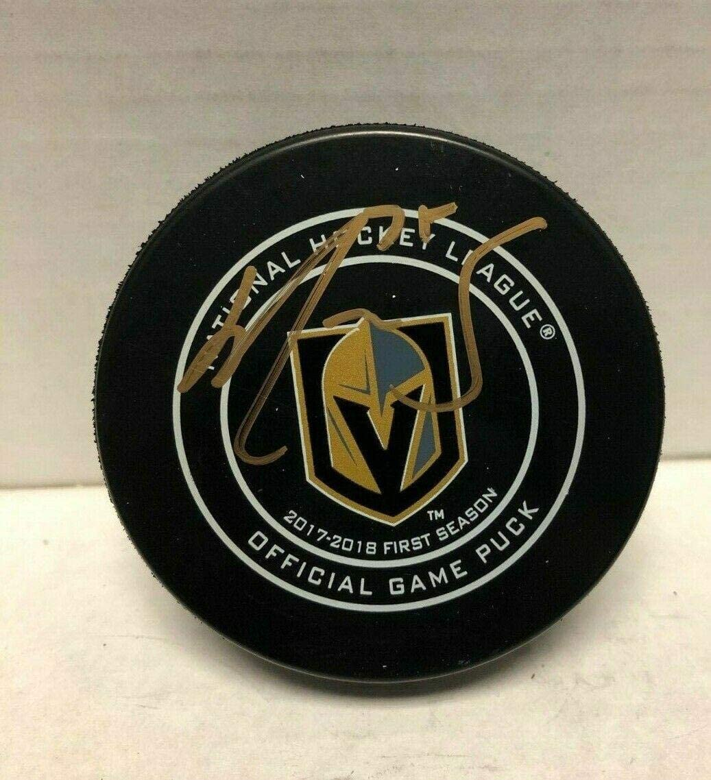Autographed Ryan Reaves Hockey Puck - 2017 18 Official Coa - JSA Certified - Autographed NHL Pucks