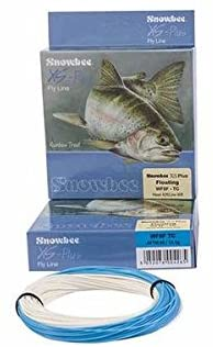SNOWBEE XS-Plus Twin Color Weight Forward Floating Line - (Blue/Ivory)