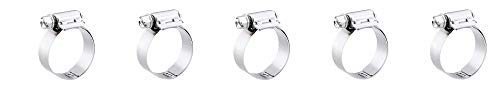 Breeze Liner Stainless Steel Hose Clamp, Worm-Drive, SAE Size 16, 13/16