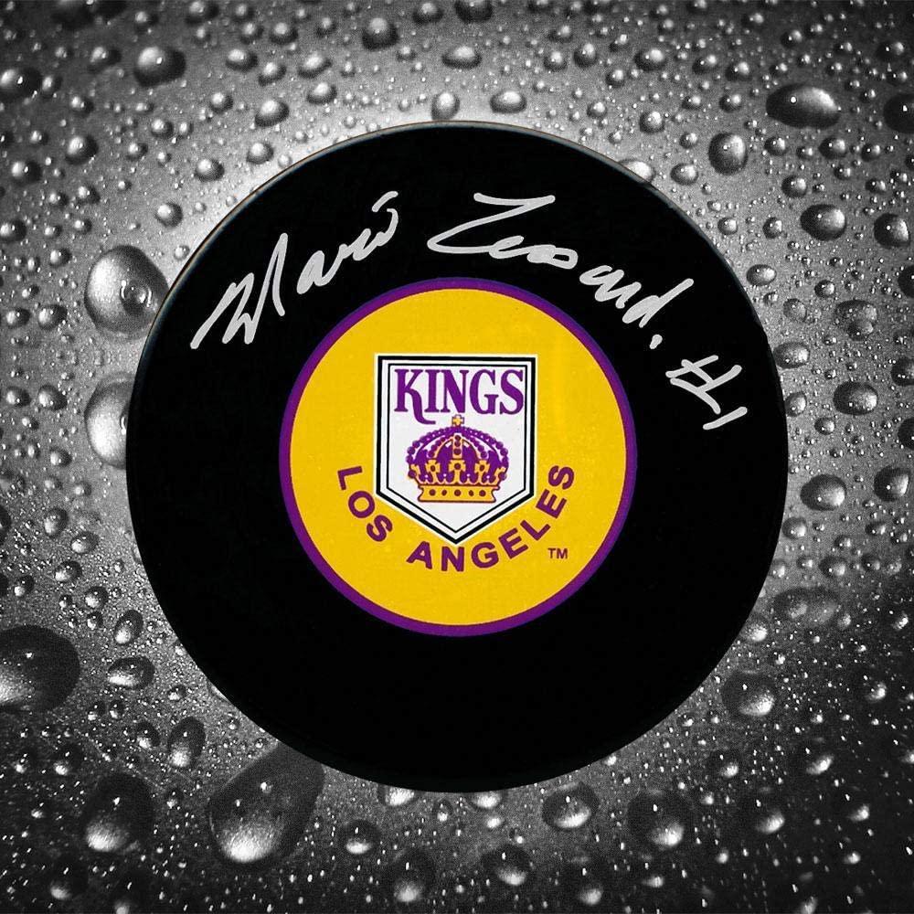 Mario Lessard Autographed Puck - Autographed NHL Pucks