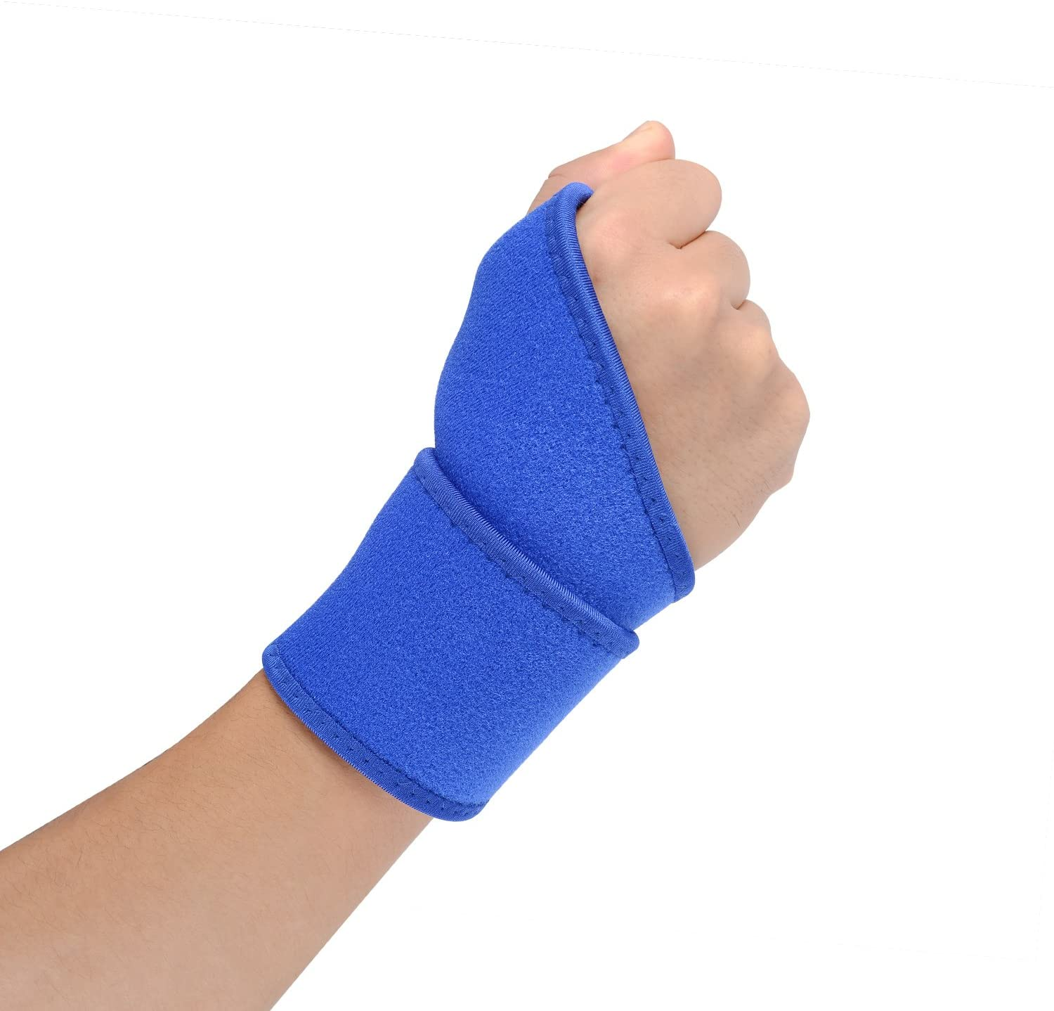 Glevel Wrist Wraps - Professional Grade with Thumb Loops - Wrist Support Braces for Men & Women - Weight Lifting, owerlifting, Strength Training