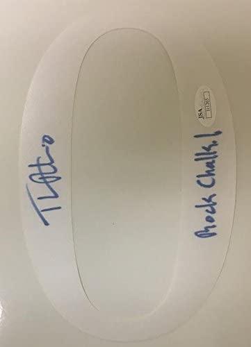 Thomas Robinson Autographed Kansas Jersey Signed 8