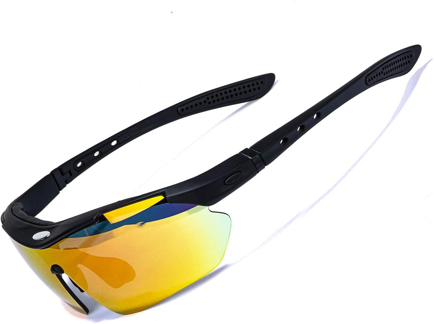 Reksai Cycling Glasses Polarized Sports Sunglasses Driving Hiking Golf Baseball Biking Glasses for Men Women Youth
