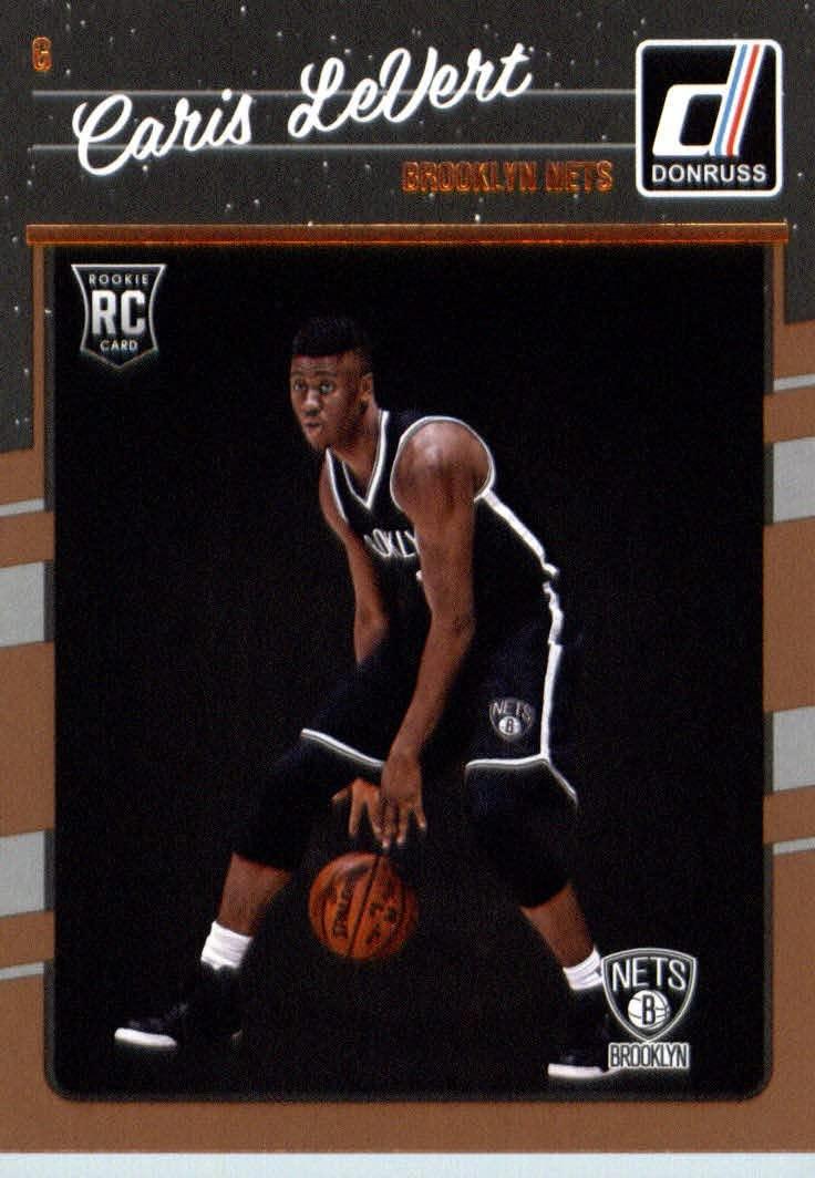 2016-17 Donruss #167 Caris LeVert Brooklyn Nets - Basketball Rookie Card-MINT