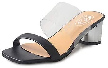 RainbowElk Womens Sandals Summer Comfort PU Outdoor Low Heel