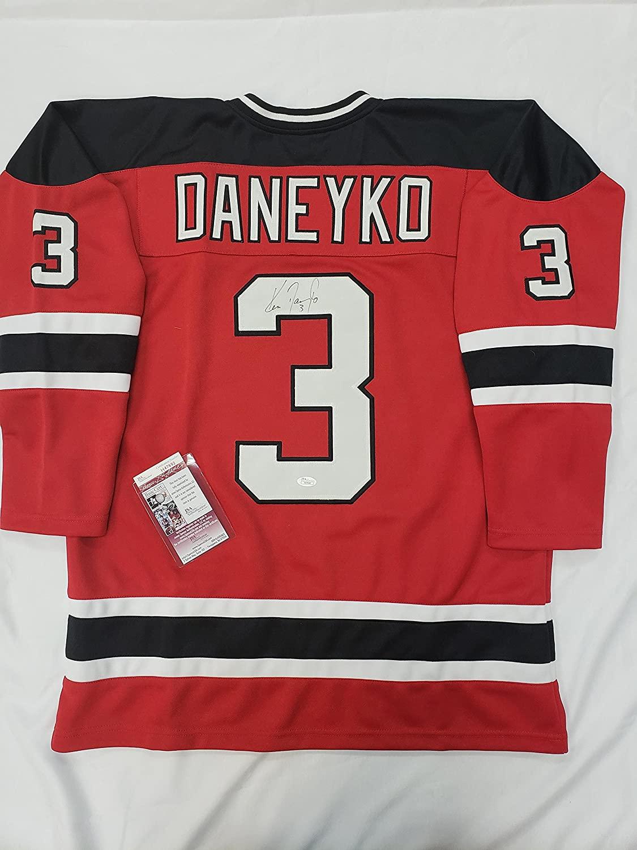 Ken Daneyko Signed New Jersey Devils Jersey
