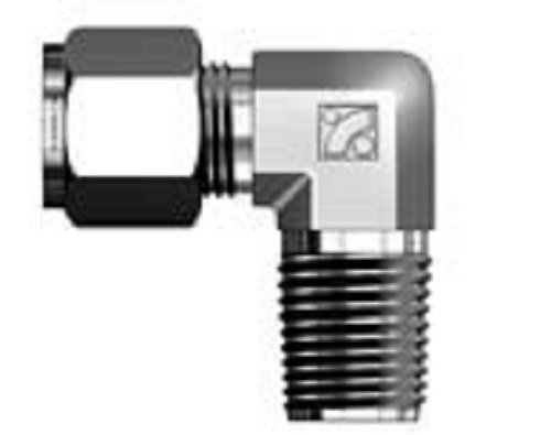 Superlok Male Elbow Tube Fitting, Connects Fractional Tube to Female NPT Thread, 3/4