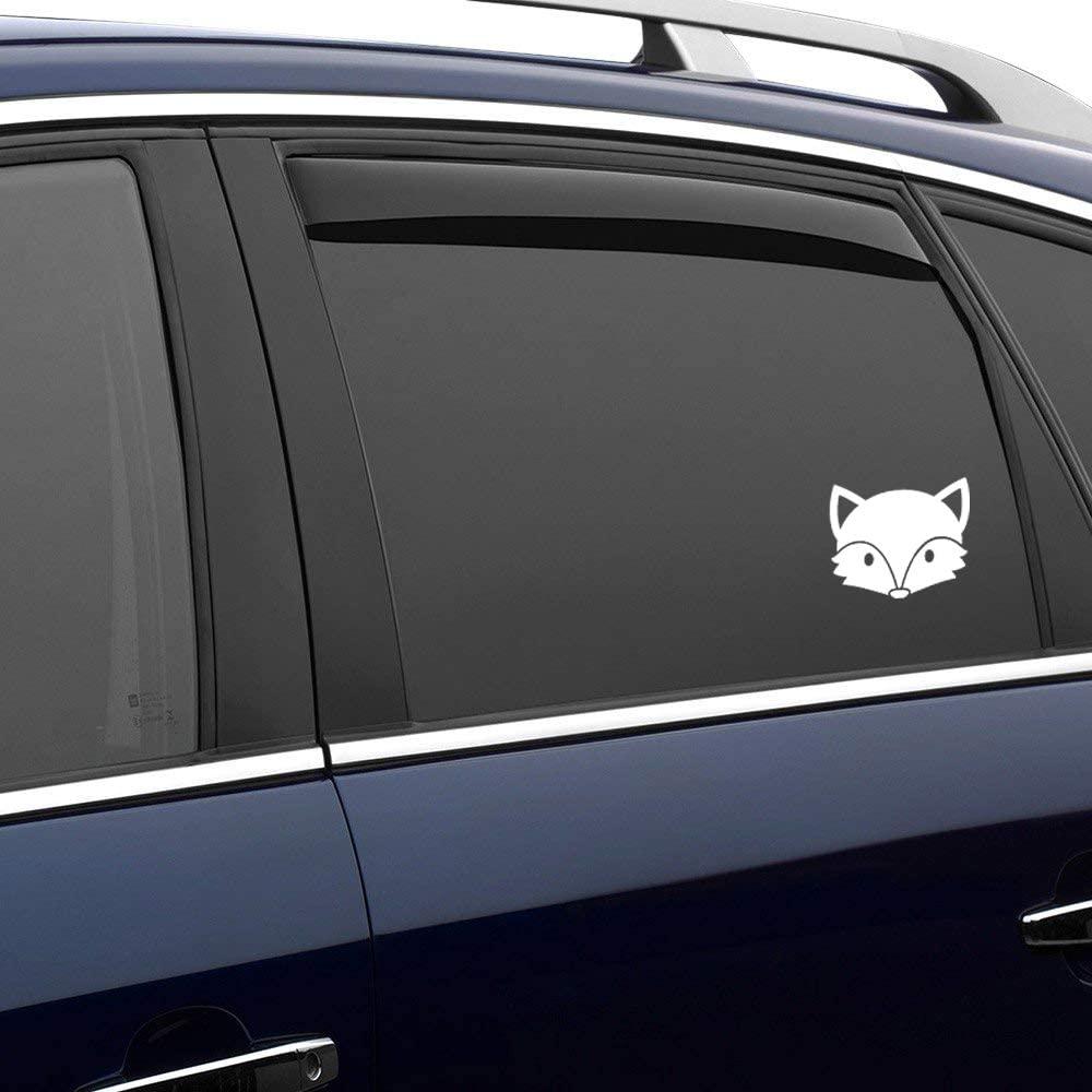 N/ A Wolf Cute Woodland Animal Vinyl Sticker Graphic Bumper Tumbler Decal for Vehicles Car Truck Windows Laptop MacBook Phone Wall Door