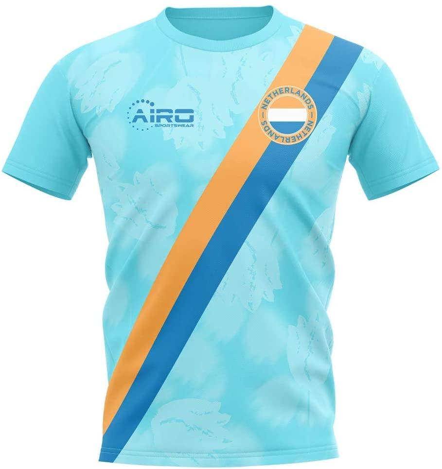 Airosportswear 2020-2021 Holland Away Concept Football Soccer T-Shirt Jersey - Kids