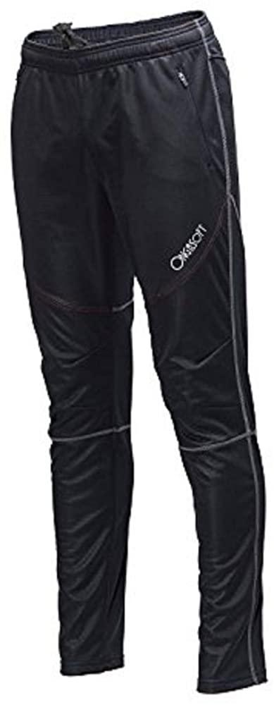 ONGASOFT Men's Bike Bicycle Fleece Pants Running Workout Training Pants Windproof Sports Pants with Zipper Pockets