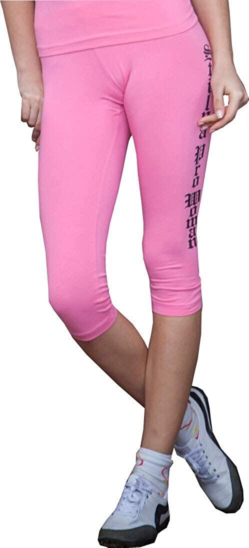 STILYA SPORTSWEAR COMPANY Bodybuilding Women's Capri Workout Pants 5911