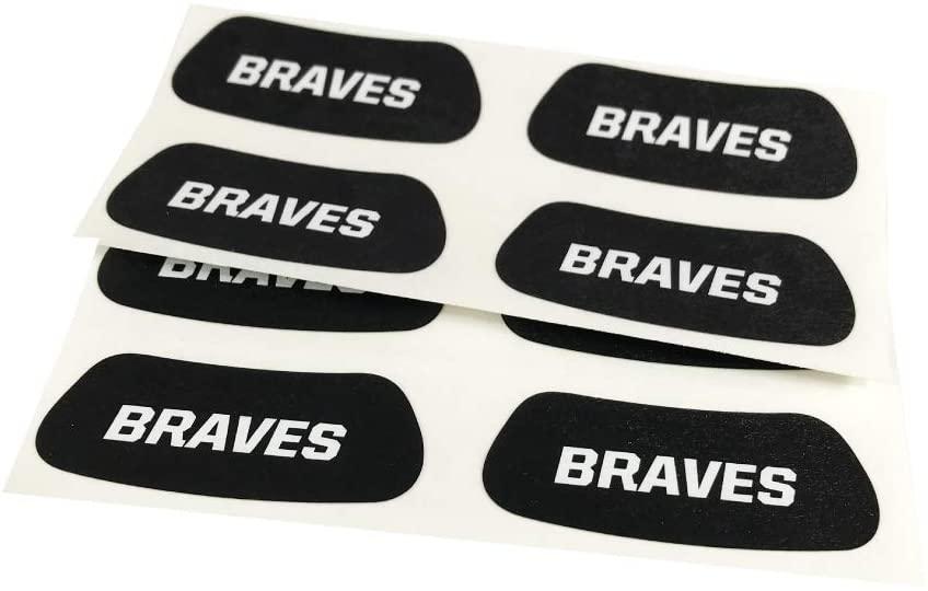 Braves Team Name Eye Black
