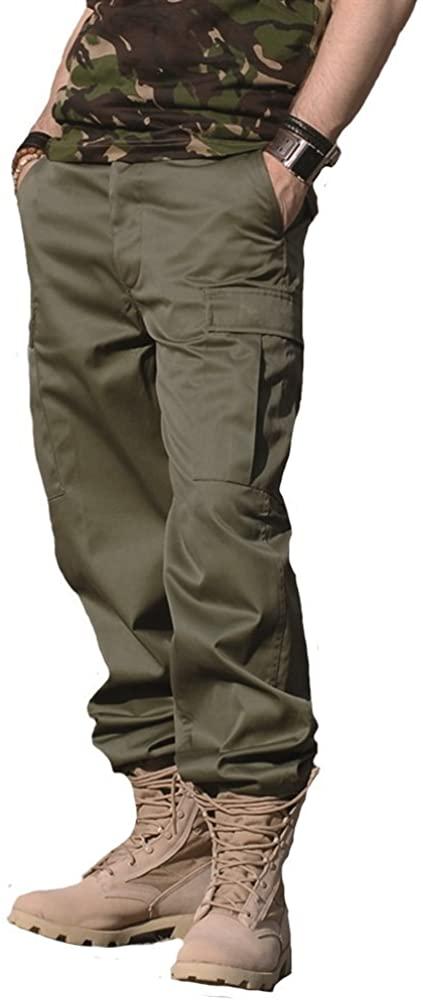 Mil-Tec Olive Drab Ranger BDU Style Field Pants (Large)