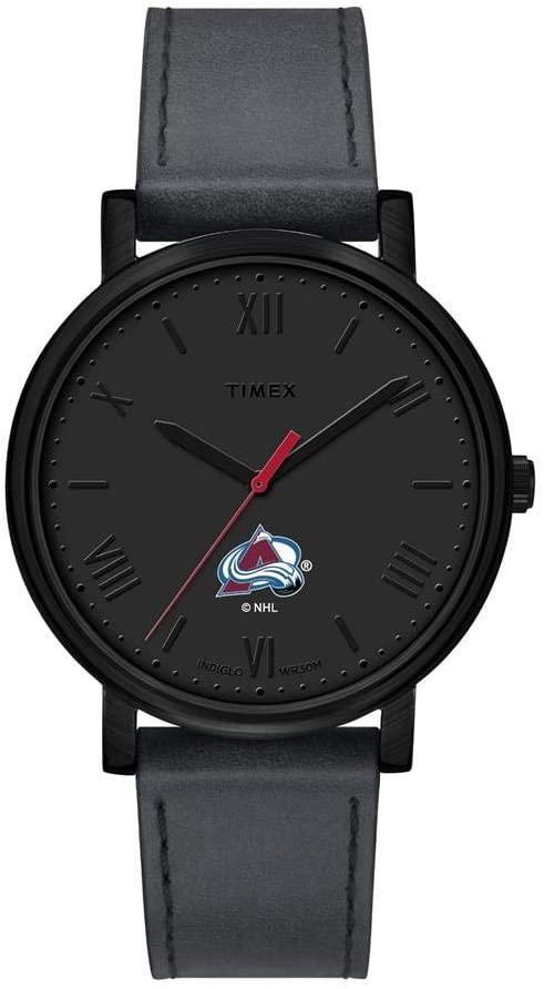 Timex Ladies Colorado Avalanche Watch Black Night Game Watch