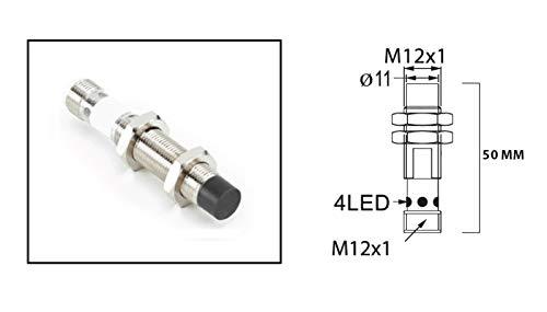 RADWELL VERIFIED SUBSTITUTE T4606700SUB Proximity Sensor - M12 INDUCTIVE, PNP, Short Body, M12 QD, UNSHIELDED 4MM Sensing Range, N/O