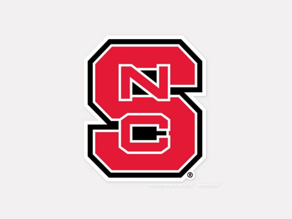 WinCraft NCAA North Carolina State University Perfect Cut Color Decal, 4
