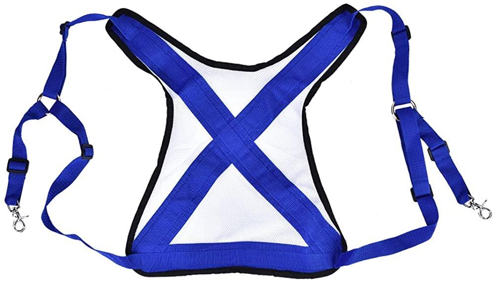 Fishing Shoulder Back Harness, Practical Ultralight Fishing Vest Belt Adjustable Shoulder Harness Tackle Equipment