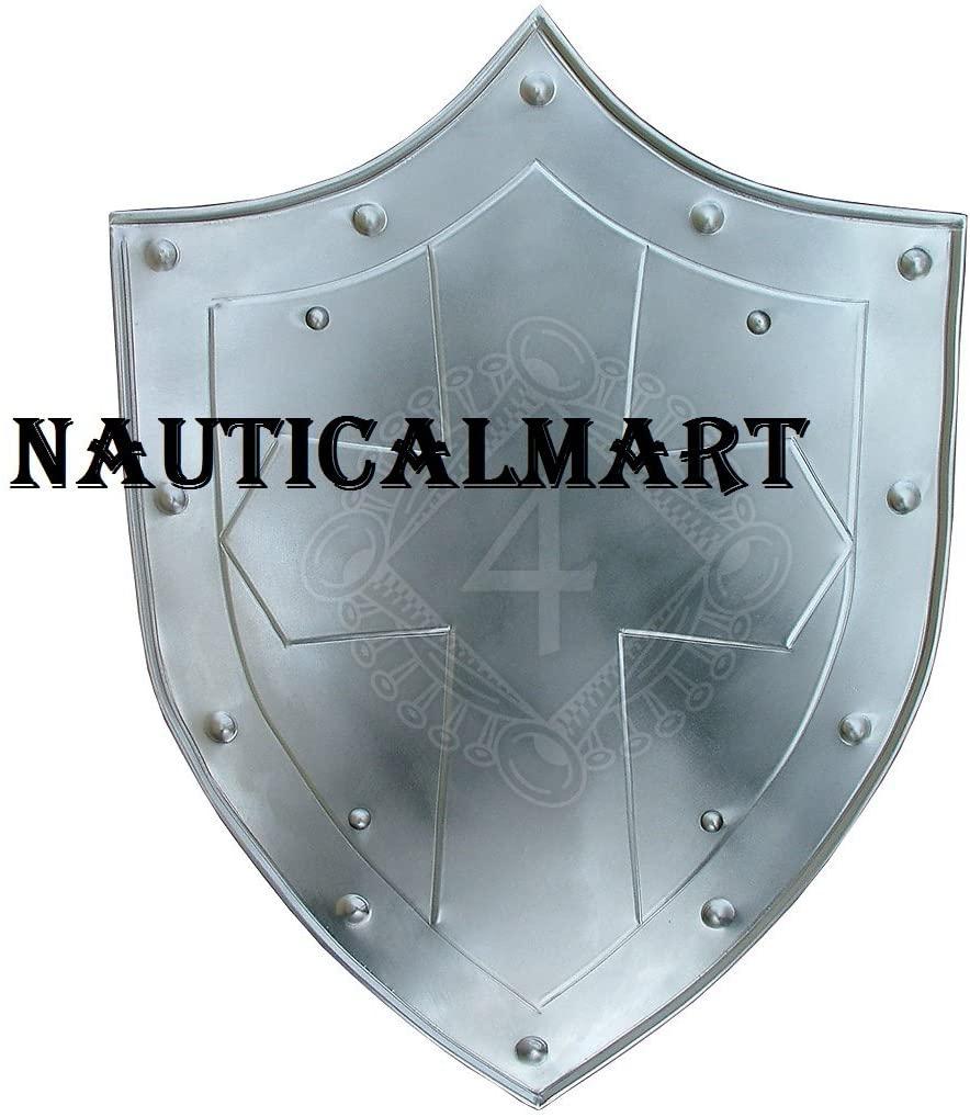 NAUTICALMART Medieval Royal Crusader Knight Armor Shield