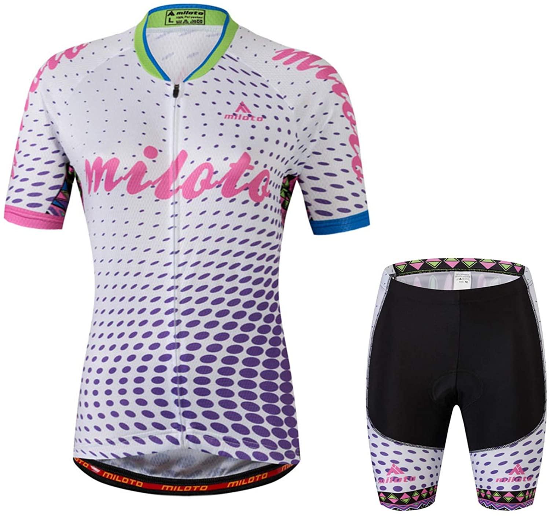 MILOTO Bike Jersey Women Biking Clothing Bicycle Jacket Team Cycling Shirts Sui
