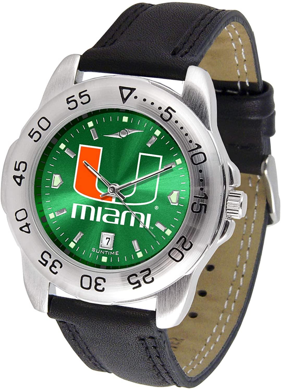 Miami Hurricanes - Men's Sport AnoChrome Watch