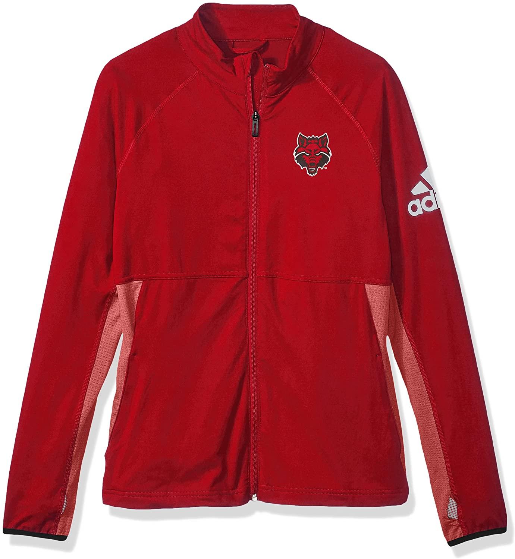 adidas NCAA womens Logo Performer Full Zip Jacket