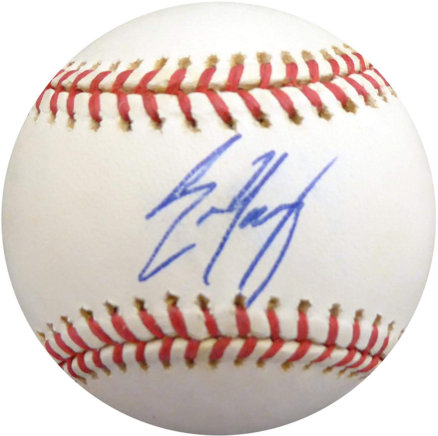 Eric Young Autographed Official NL Baseball Colorado Rockies Beckett BAS #S78618 - Beckett Authentication