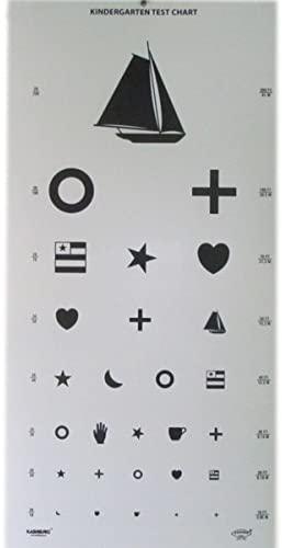 Kindergarten Eye Chart 22