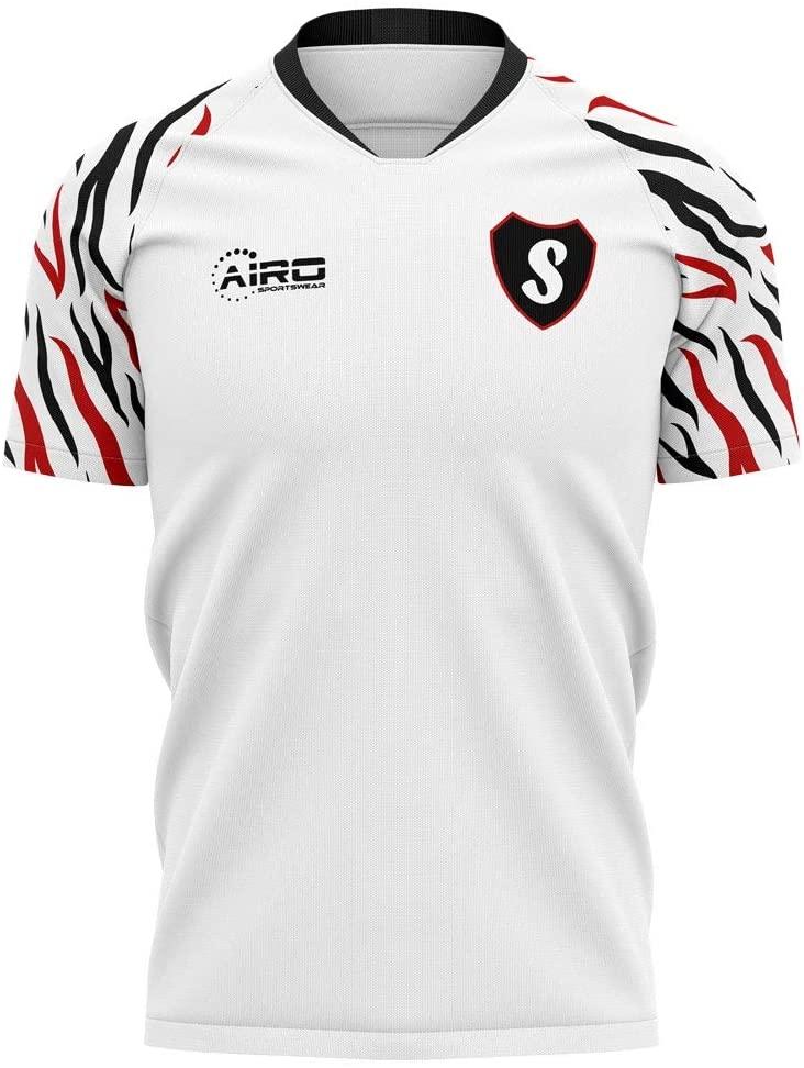 Airosportswear 2020-2021 Swansea Home Concept Football Soccer T-Shirt Jersey - Kids