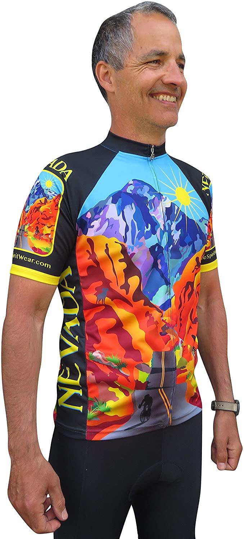 Free Spirit Wear Nevada Cycling Jersey