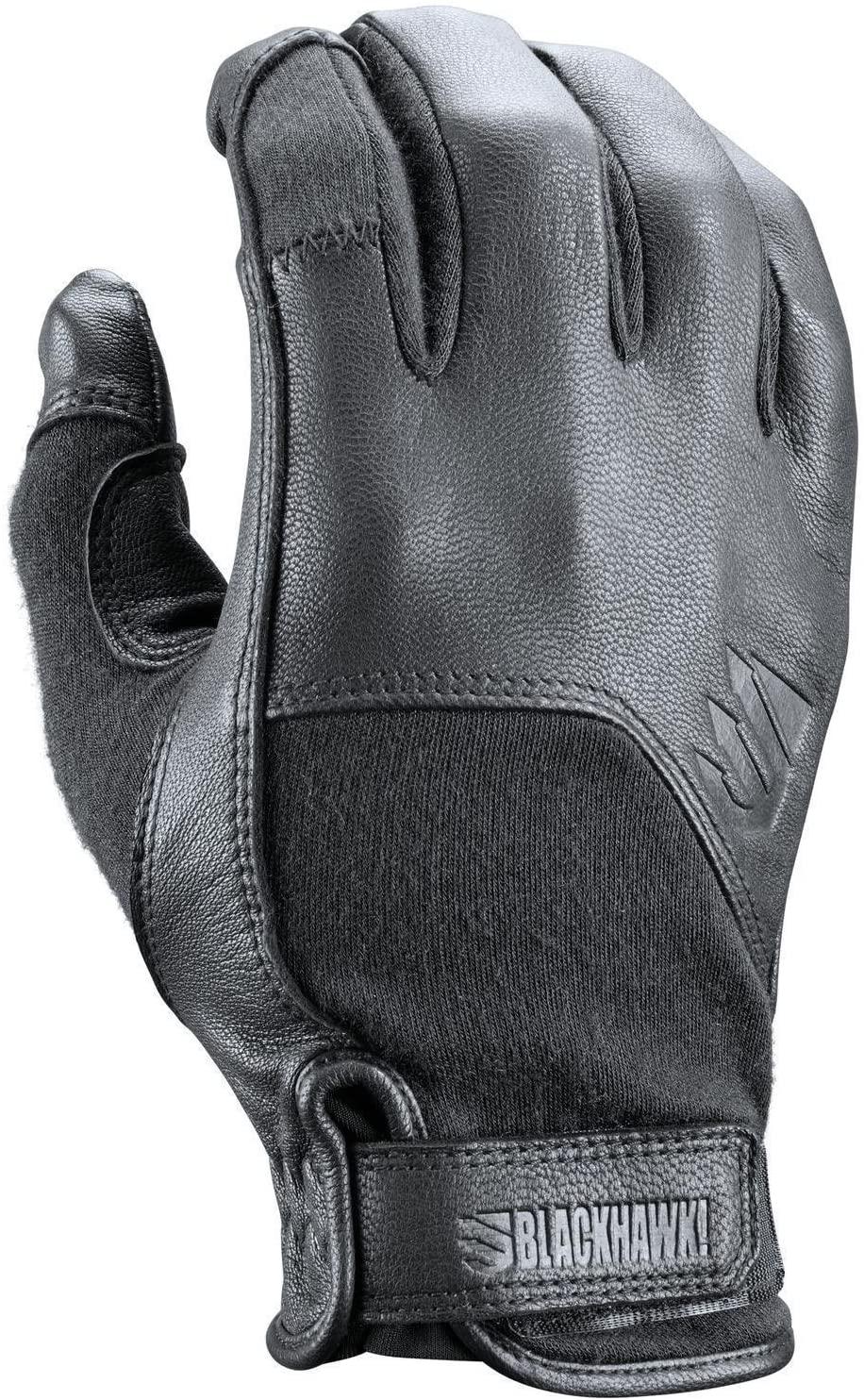 BLACKHAWK! Gt009Bklg Aviator Glove, Black, Large