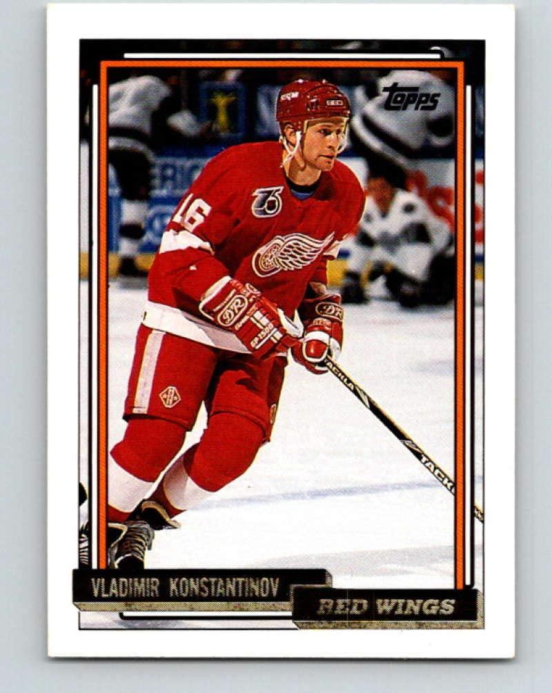1992-93 Topps Gold #165G Vladimir Konstantinov Mint Hockey NHL Red Wings
