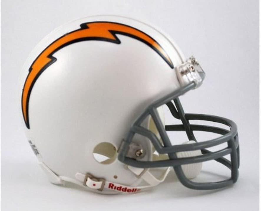 Riddell San Diego Chargers AFL 50th Anniversary Replica Mini Helmet