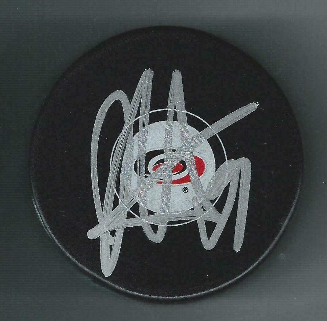 Dougie Hamilton Autographed Hockey Puck - Autographed NHL Pucks