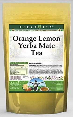 Orange Lemon Yerba Mate Tea (25 Tea Bags, ZIN: 562510)