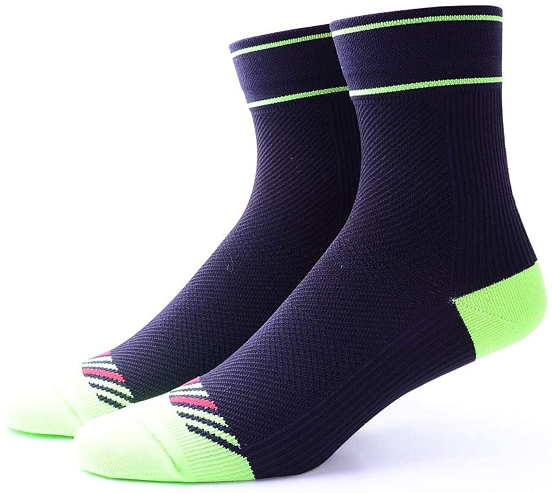 Unisex Arch Support Breathable Cycling Sports Crew Socks