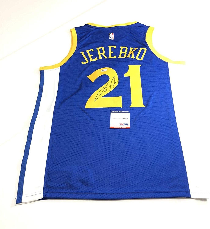 Jonas Jerebko Autographed Jersey - PSA/DNA Certified - Autographed NBA Jerseys