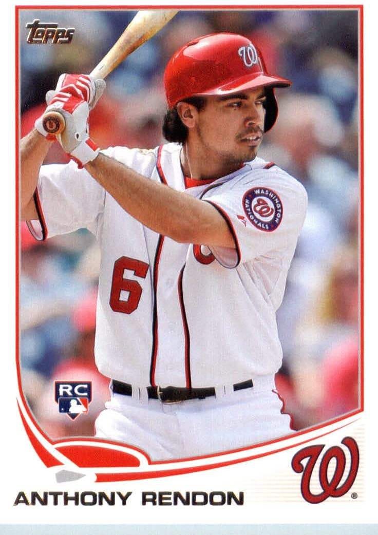 2013 Topps Update Series MLB Baseball Rookie Card #US8 Anthony Rendon MINT