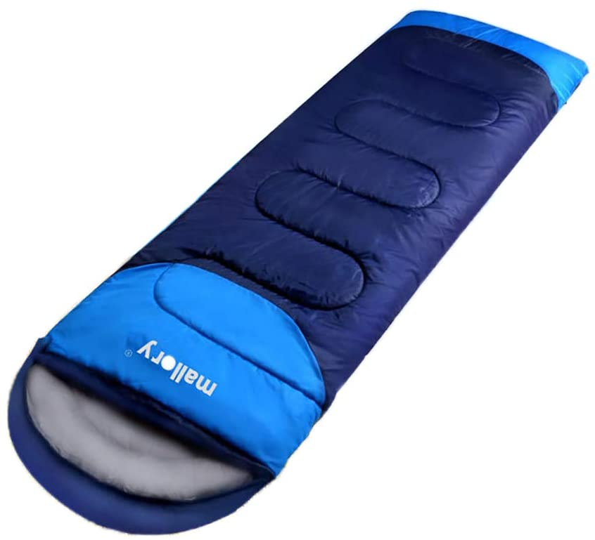JIAJIALIN Envelope Shape Sleeping Bag Camping Gear Equipment Traveling Indoor Outdoors Sleeping Bag Lightweight Warm Washable for Hiking Traveling with Compression Sack