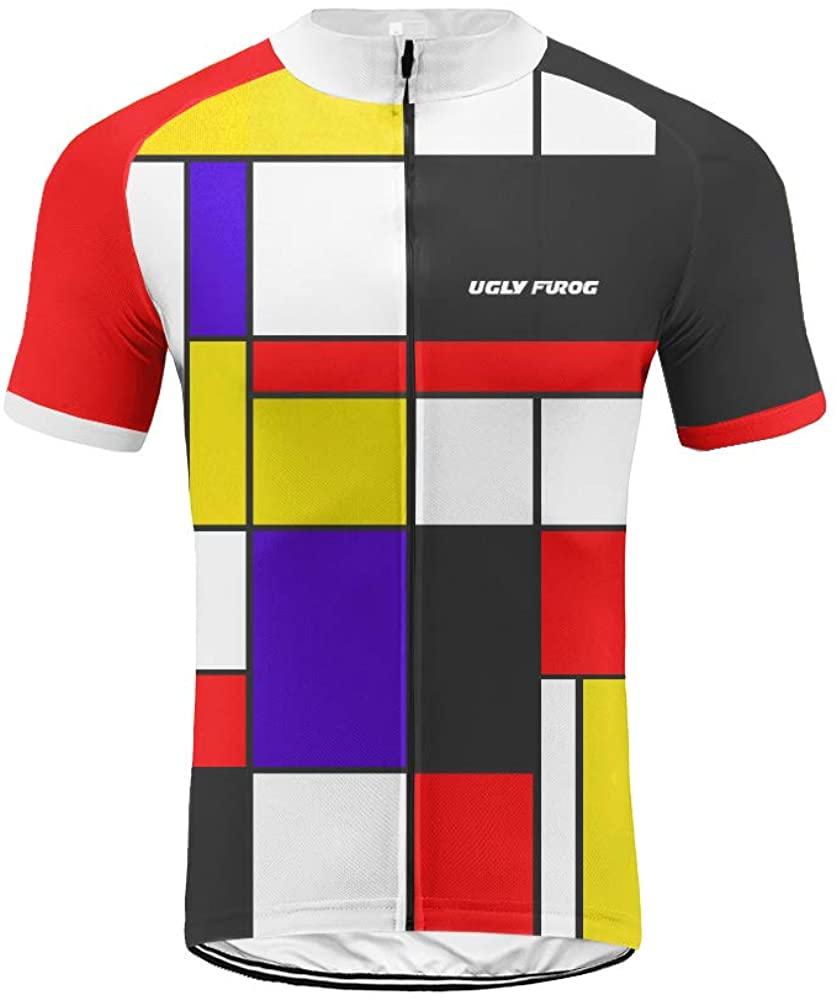 Uglyfrog Cycling Jersey Short Sleeve Men MTB Bike Clothing Road Bicycle Shirts Shorts Padded Pants DXMX01