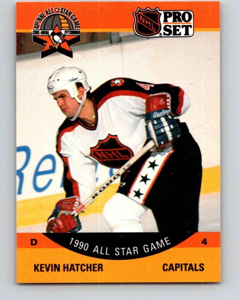 1990-91 Pro Set #376 Kevin Hatcher AS Mint Washington Capitals