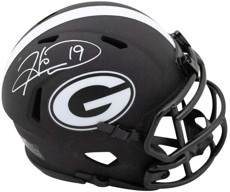 Hines Ward Autographed Georgia Bulldogs Eclipse Mini Football Helmet - BAS COA