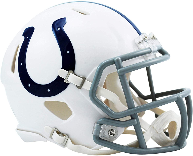 Riddell Indianapolis Colts Revolution Speed Mini Football Helmet