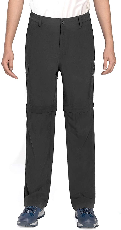 CAMEL CROWN Men's Hiking Pants Convertible Quick Dry Zip Off Lightweight Outdoor Cargo Shorts