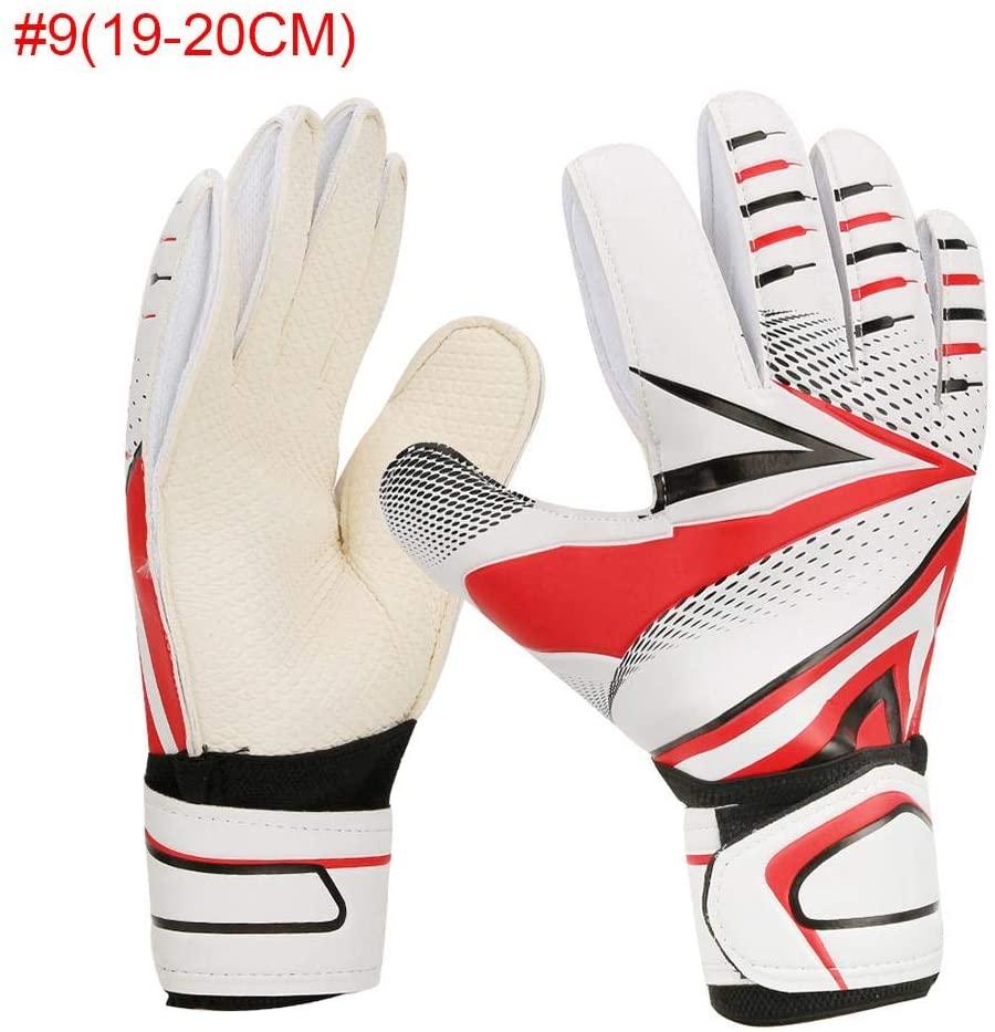 VGEBY Children Goalkeeper Glove, Non-Slip Wear-Resistant SBR Material Soccer Football Gloves for Kids