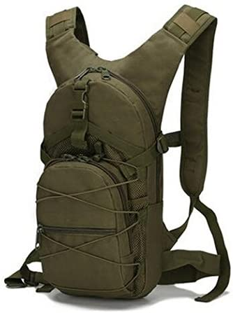 ZhaJunBag 15L Outdoor Cycling Backpack Bags 3P Tactical Camouflage Oxford Bicycle Women Men Camping Running Rucksack