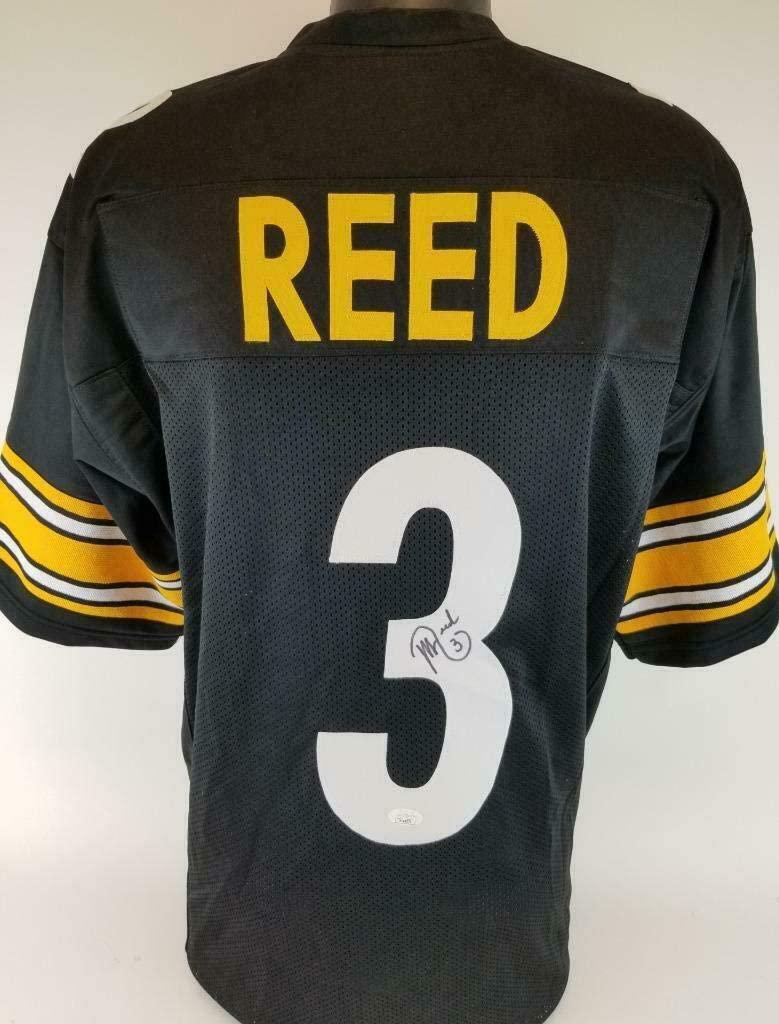 Jeff Reed (Pittsburgh Steelers) Autographed Jersey - Custom COA - JSA Certified - Autographed NFL Jerseys