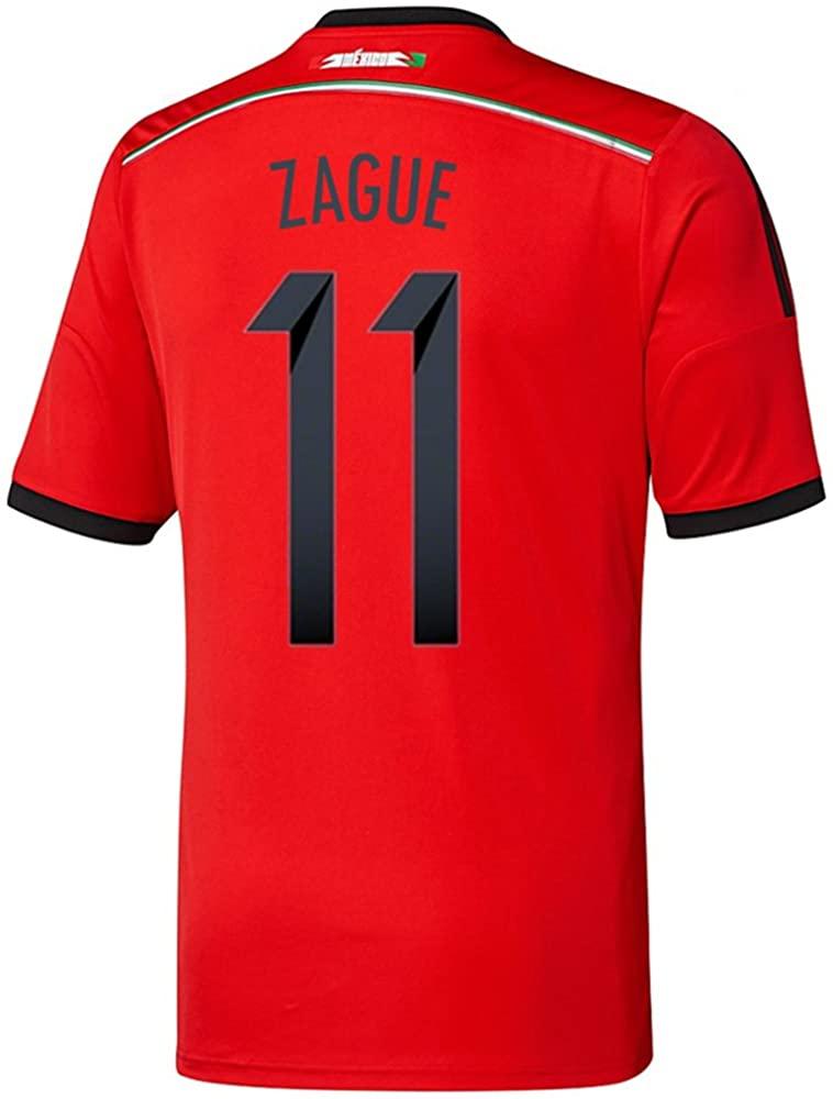adidas ZAGUE #11 Mexico Away Jersey World Cup 2014