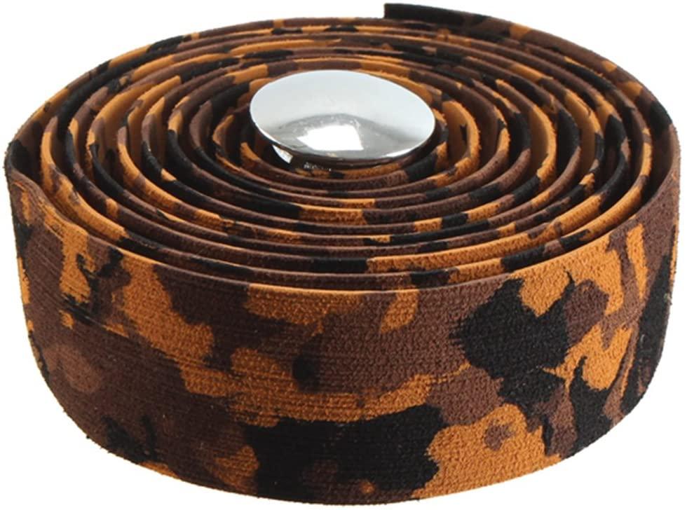 Soma Striated Bar Tape, Brown Camo
