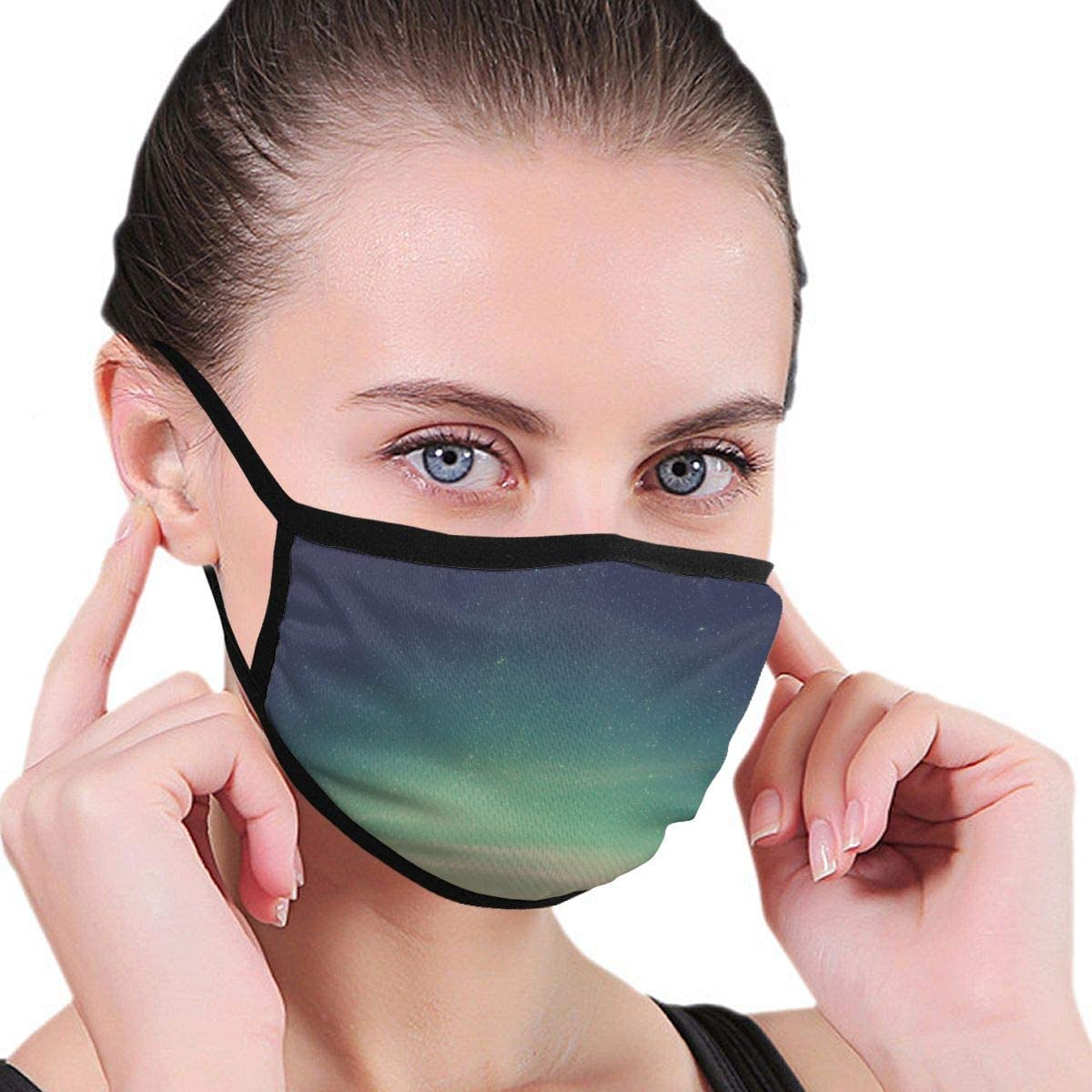 Wehoiweh Night Dust Prevention Face Cover Mouth Cover Bandana Cool Lightweight
